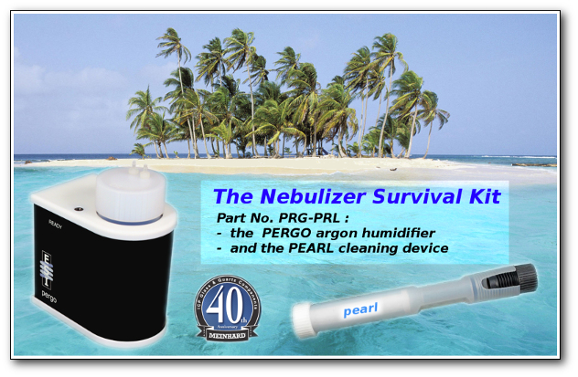 Nebulizer survival kit